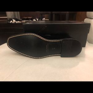 Velvet tuxedo Saks Fifth Ave men's loafers